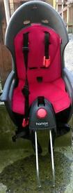 Hamax Siesta childs seat for bike + 2 fittings