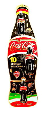 "COCA COLA BALLON ""SPECIAL SHAPE"" Pin / Pins - FLASCHE braun / 3 PINS!!!!! [4018]"