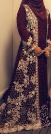 Beautiful Indian style dress with trail - PERFECT CONDITION