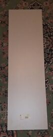 5 PIECES OF SHARPS WARDROBE SHELVING WOOD. COLOUR STONE GREY. BRAND NEW