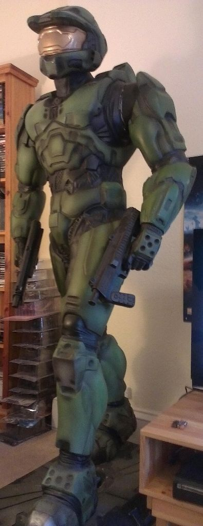 Life Size 7ft Foot Halo 2 Master Chief Statue Mannequin