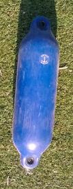 Blue Boat Fender