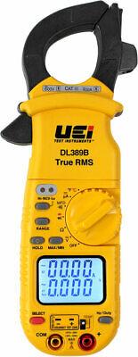 Uei Dl389b True Rms Dual Display Clamp Meter With Temperature