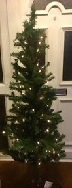 B&Q 5ft 6 pre-lit forest pine Christmas tree. Comes with original box