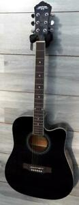 Acoustic Guitar for beginners Black 41 inch Full Size iMusic962 options available