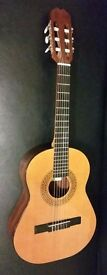 Admira Infante Classical Guitar 3/4-size 1955. Made in Spain