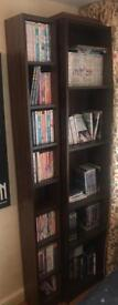 Bookcase brown wood