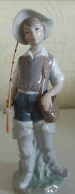 LLADRO Fisher Boy - Excellent Condition
