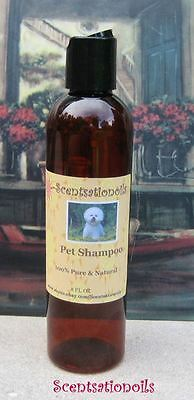 *Luxurious UNSCENTED PET SHAMPOO DOG CAT large 8 OZ 240ml Hypoallergenic animals