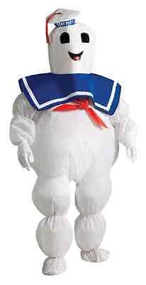 Inflatable Stay Puft Marshmallow Man Ghostbusters Halloween Child Costume ()