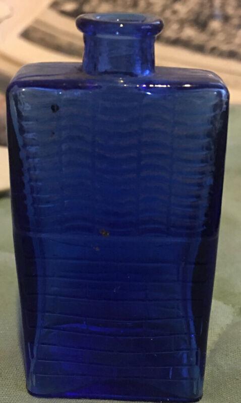 Bottle Miniature Blue Bottle BOOZ BOTTLE Philadelphia Pa
