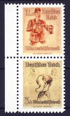 WWII Propagandafälschung MiNr. 30-31 (*) REPLICA, Fälschung