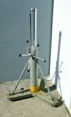 Brunson Model 233 Metrology Stand 37- 56.5 94-143.5 Cm Instrument Mount