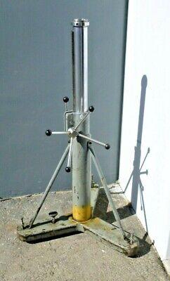 Brunson Model 233 Metrology Stand 37- 56.5 94-143.5 Cm Instrument Mount