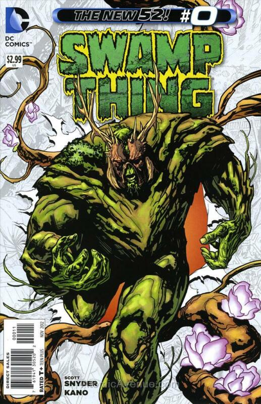 Swamp Thing (5th Series) #0 VF/NM; DC | save on shipping - details inside