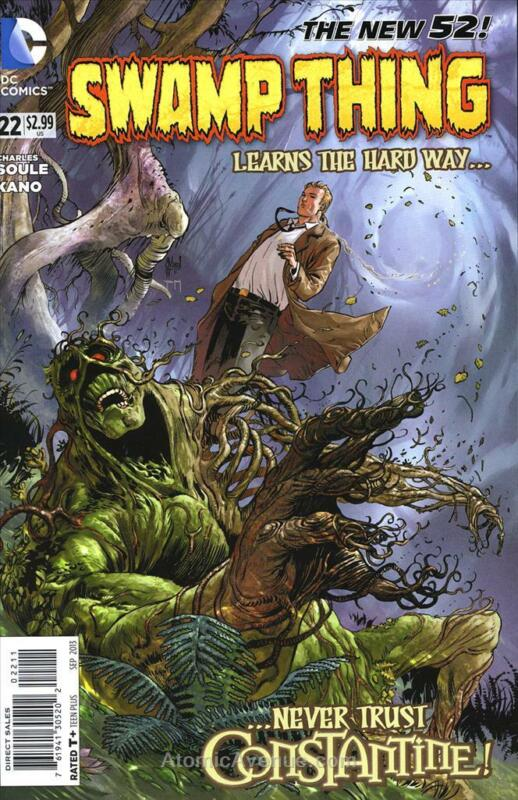 Swamp Thing (5th Series) #22 VF/NM; DC | save on shipping - details inside