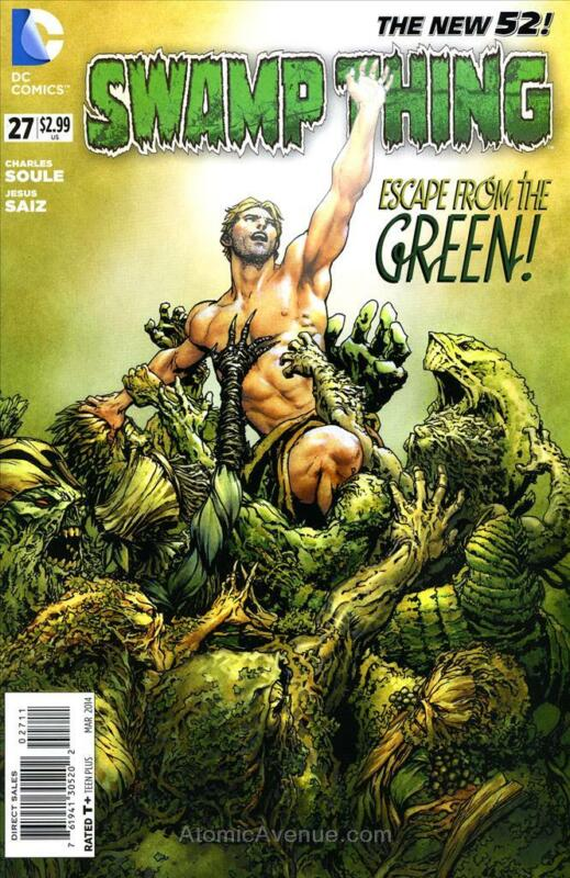 Swamp Thing (5th Series) #27 VF/NM; DC | save on shipping - details inside