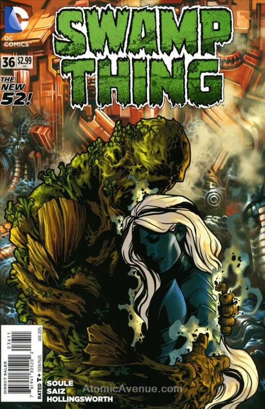 Swamp Thing (5th Series) #36 VF/NM; DC | save on shipping - details inside