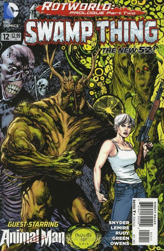 Swamp Thing (5th Series) #12 VF; DC | save on shipping - details inside