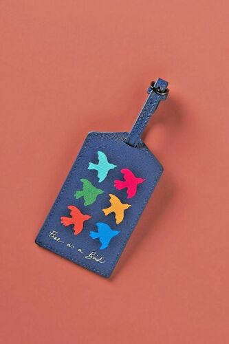 NWT Anthropologie Voyager Luggage Tag
