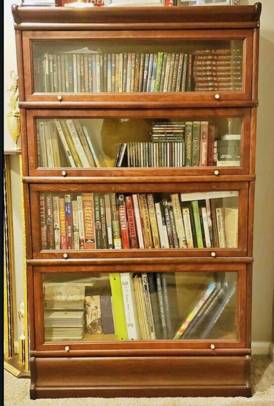 Macey Barrister Bookcase 4 Stack