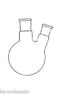Lab Glass Flasktwo Neck 2 Neck Round Bottom 2000ml 2440 New
