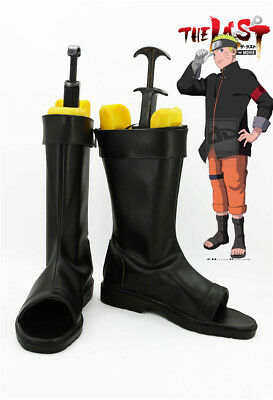 UZUMAKI NARUTO THE LAST MOVIE Cosplay Kostüm NINJA Schuhe Shoes boot Neu - Ninja Kostüm Schuhe
