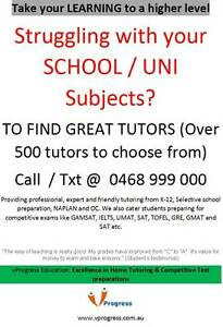 TO FIND GREAT TUTORS contact us at  Sydney City Inner Sydney Preview
