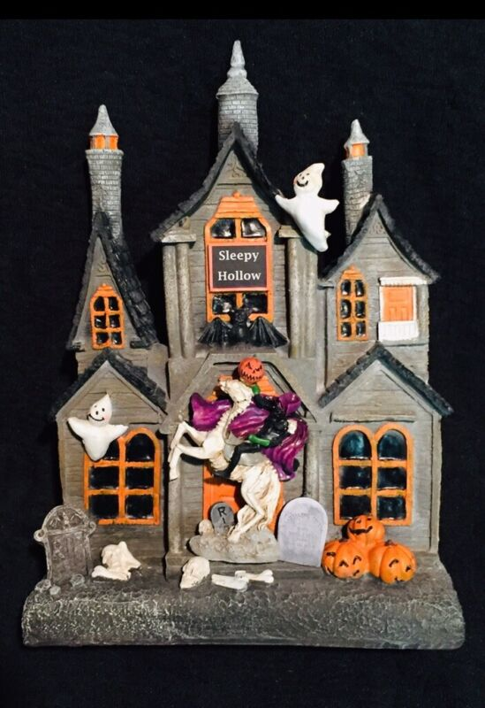 Sleepy Hollow-Headless Horseman Castle Custom Design Halloween Decor AMAZING!!!