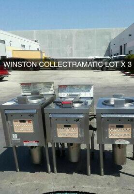 Winston Pressure Fryer- Lot Of 3