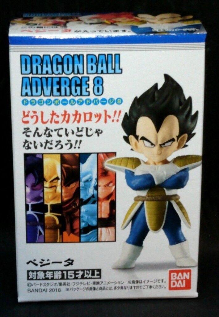 BANDAI DRAGON BALL Z Super ADVERGE 8 Mini Figure SS4 Gogeta NEW F//S Japan import
