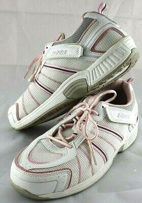 ORTHOFEET BioFit Diabetic Walking Women's Shoes Pink/White Size 8.5 -