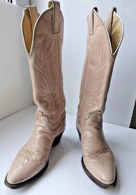 Genuine Justin handmade vintage cowboy boots,  UK size 3.5