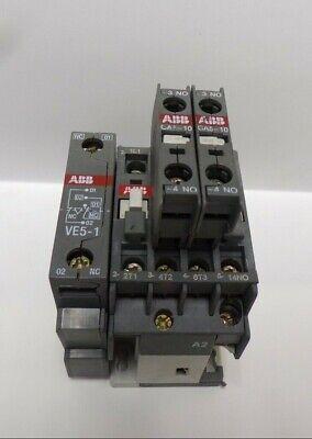ABB NON-REVERSING CONTACTOR A9-30-10 ,UI-1000V~ 26A , EAC-1-25A,60947-4-1 ,VE5-1