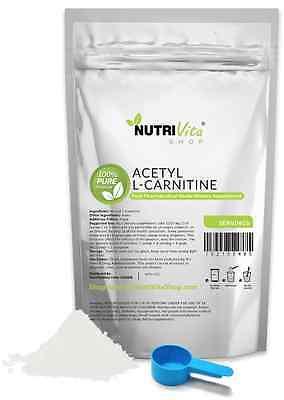 500g (1.1lb) NEW 100% PURE ACETYL L-CARNITINE (ALCAR) POWDER USP GRADE