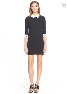 Ted Baker Women's Black Currie Lace Collar Tunic Size 0 (UEC)