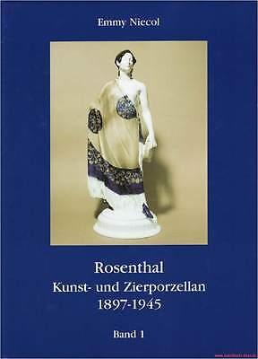 Fachbuch Rosenthal Kunst- und Zierporzellan 1897-1945, 5 Bände, STANDARDWERK NEU