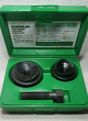 Greenlee Tools 737 Knockout Punch Hand Tool Set