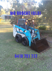 Bobcat Hire - $70 per hour New Beith Logan Area Preview