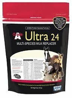 Grade A Ultra 24 Milk Replacer Sav-a Calf 8 Pounds Vitamins