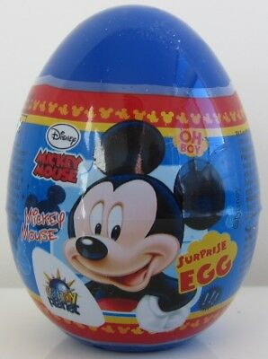 Mickey Mouse plastic Surprise egg with toy and candy -1 egg - ](Plastic Eggs With Toys)