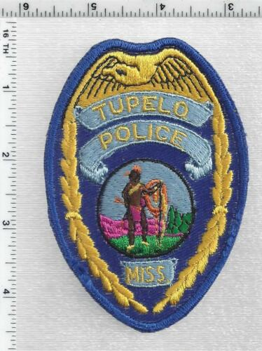 Tupelo Police (Mississippi) 2nd Issue Shoulder Patch