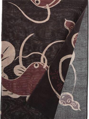 TENUGUI Namazu catfish Japanese traditional towel Hand towel made in Japan