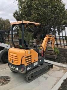 Hyundai 16-9 Mini Excavator Wangara Wanneroo Area Preview