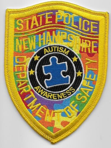 New Hampshire State Police Autism Awareness State NH