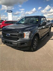 2018 Ford F-150 301A XLT SPORT, 3.5L ECOBOOST, TOW PKG, P-SEAT