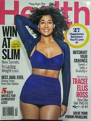 Health April 2017 Tracee Ellis Ross Win At Slim Weight Loss Free Shipping Sb