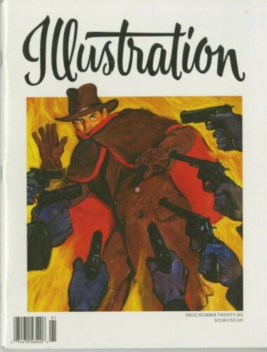 Illustration Magazine Issue # 26 Graves Gladney, Nan Pollard, The Shadow