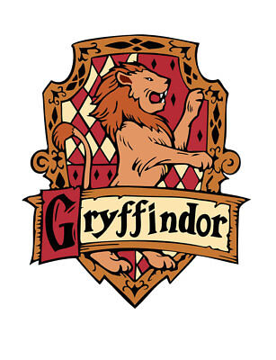 Gryffindor Iron on Screen Print for fabric Machine Washable patch Griffindor](Griffindor Patch)