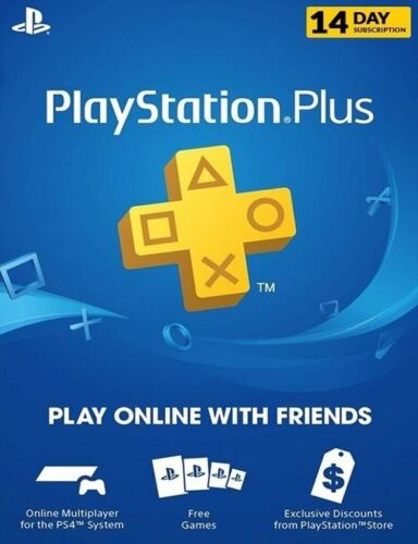 PS+ PLAYSTATION PLUS 14 DAY TRIAL PS4 PS5 [CODE] GLOBAL